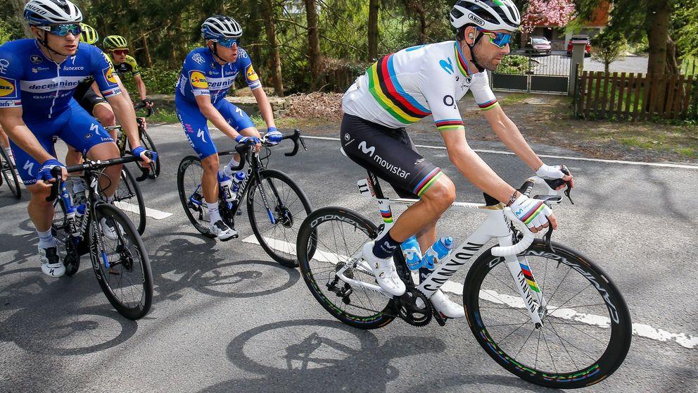 La dolorosa razón de Alejandro Valverde para no correr el Giro y el único 'pero' a Movistar