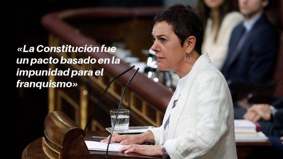 Las frases de Bildu durante la investidura: La abstención no es un cheque en blanco