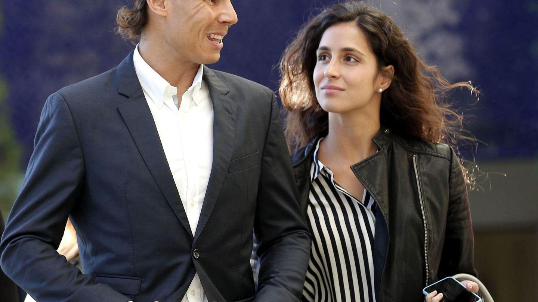 Rafa Nadal y su novia en una imagen de archivo. (EFE)
