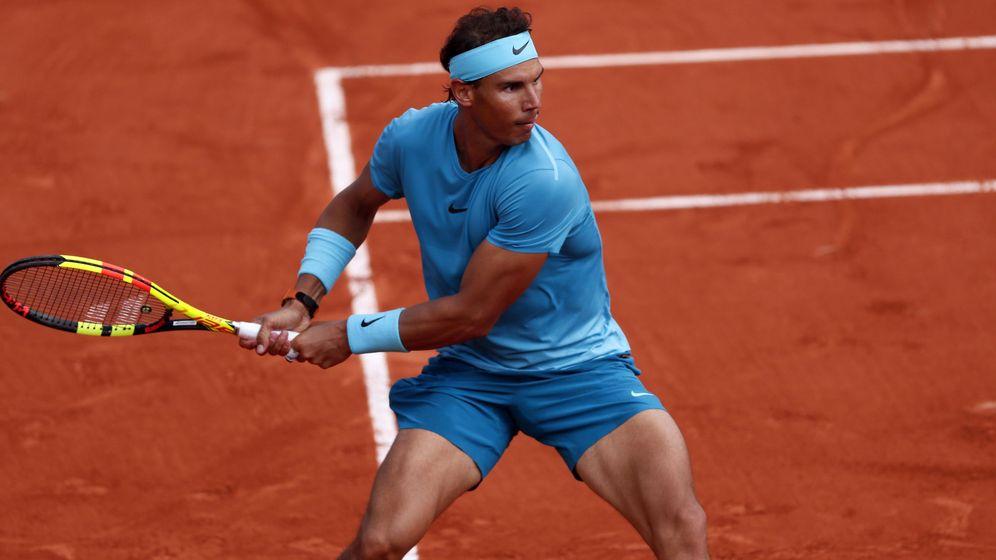 Foto: Nadal, en Roland Garros. (EFE)
