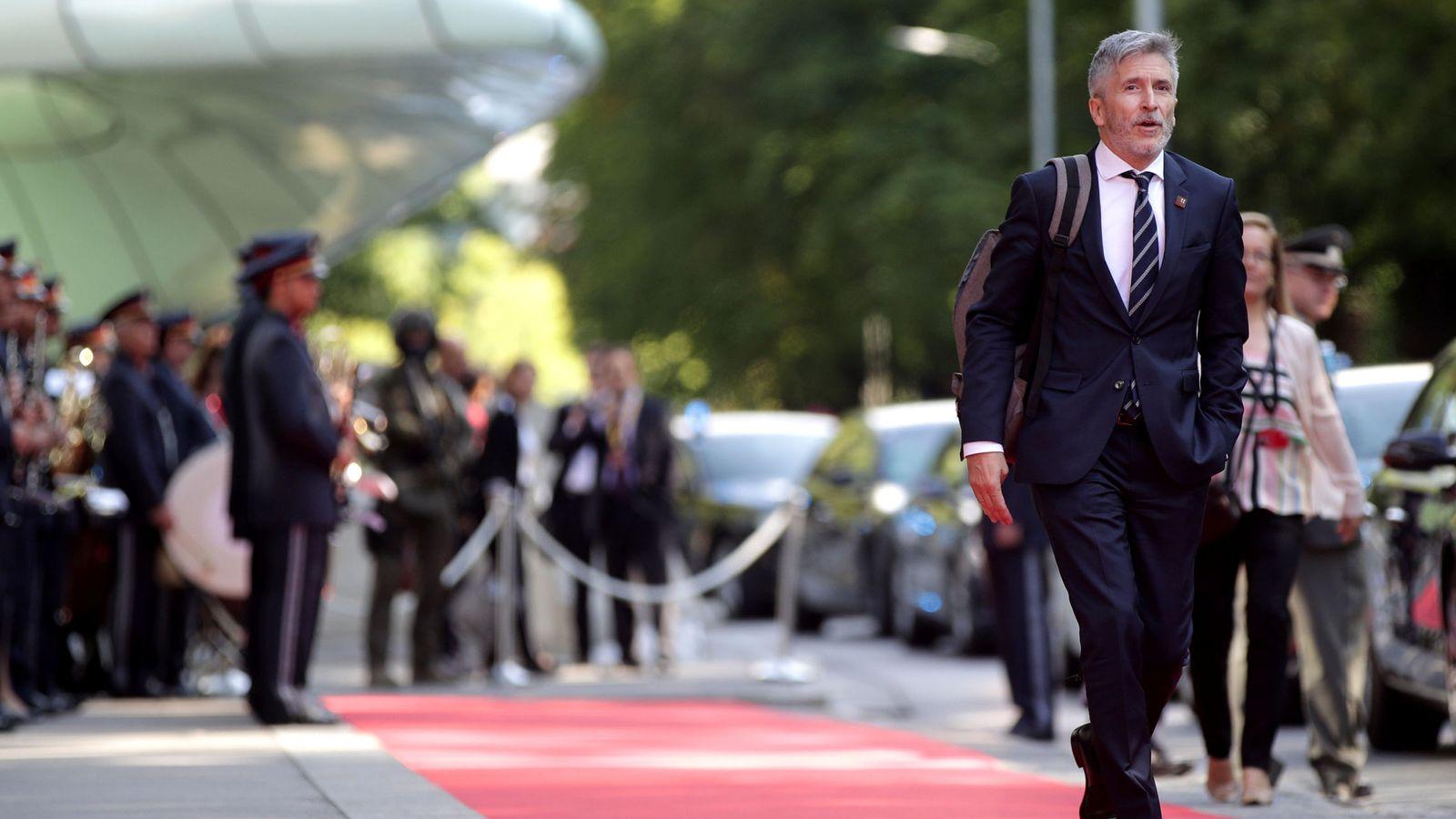 Foto: Fernando Grande-Marlaska, ministro del Interior. (Reuters)
