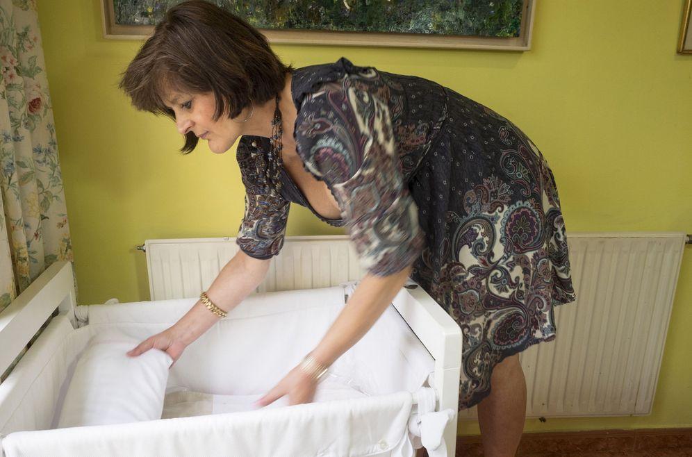 Foto: Lina Álvarez se quedó embarazada con 62 años. (EFE)