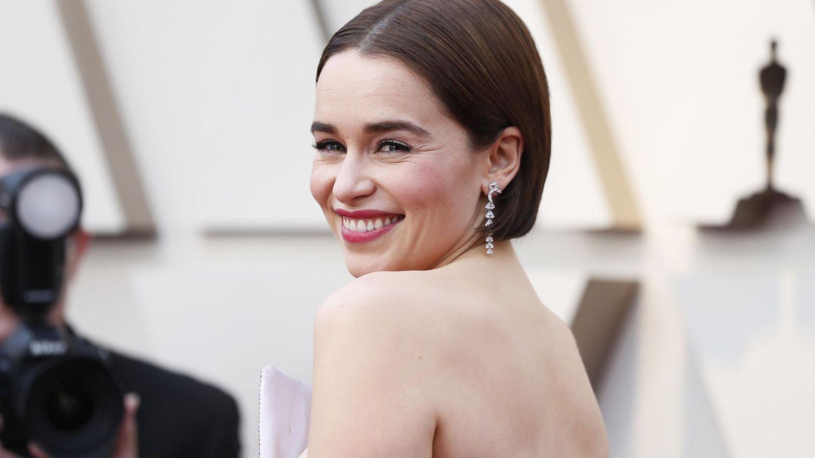 Foto: Emilia Clarke en la 91 Edición de los Oscar 2019. (Reuters)