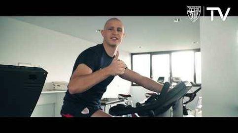El vídeo de agradecimiento de Yeray Álvarez, ya recuperado de un tumor