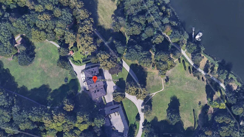 Vista aérea de Haga. (Google)