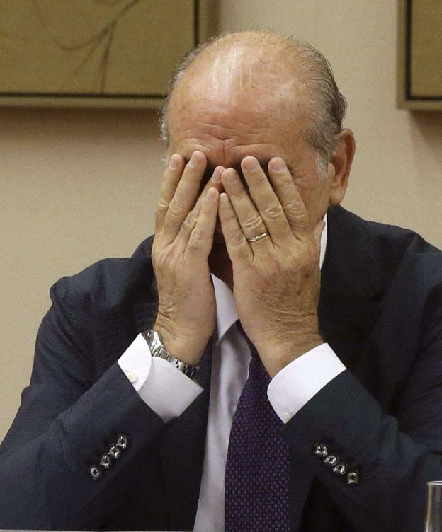 Foto: Comparecencia de Jorge Fernández Díaz en la Comisión del Interior del Congreso de los Diputados. (EFE)