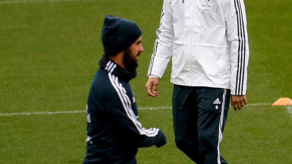 La reacción distante del vestuario del Real Madrid ante el caso Isco