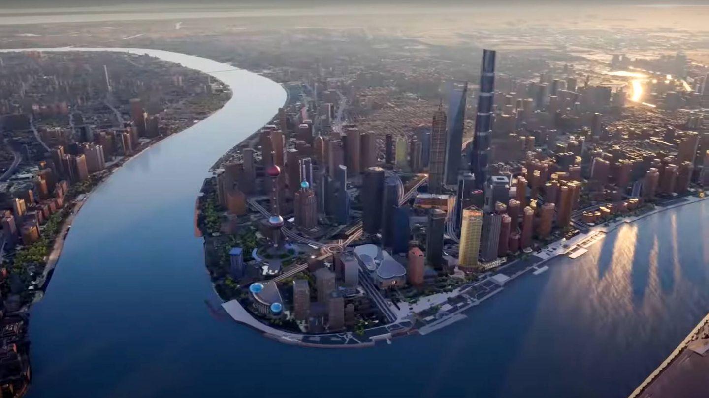 La versión gemela de Shanghai en el metaverso (51world)