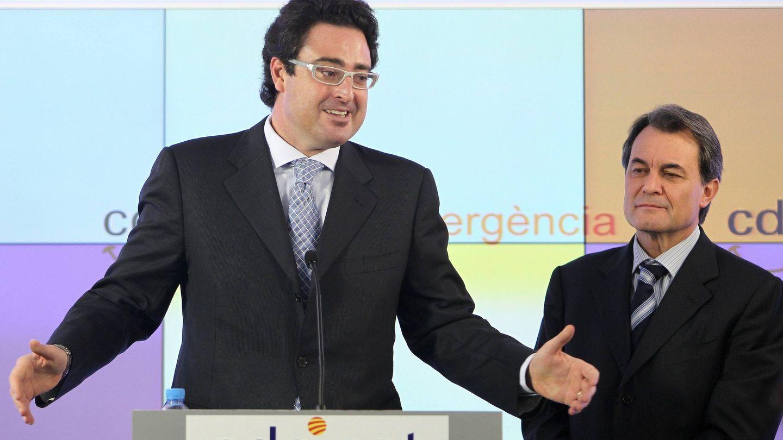 Madí y Mas, en 2010. (EFE)