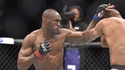 Épico Usman en UFC Chile: gana a la leyenda Maia con las dos manos rotas
