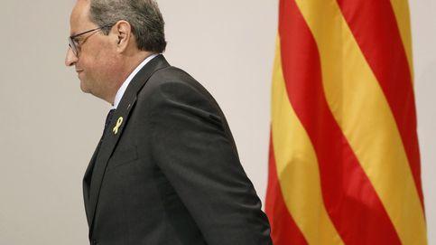 Torra se conecta cada lunes con Puigdemont por videoconferencia desde el Palau