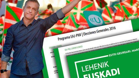 ¿Qué propone el PNV de Urkullu en su programa electoral?