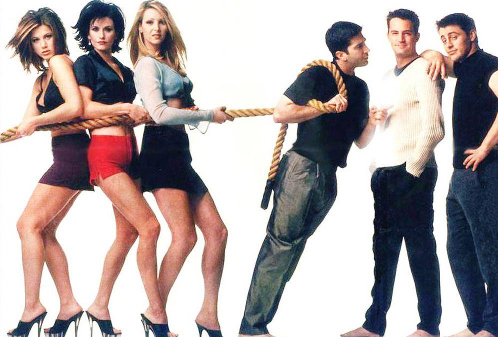 Foto: Los protagonistas de la serie 'Friends'.