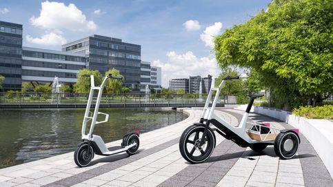 Doble propuesta eléctrica de BMW para el centro urbano: scooter y bici de carga