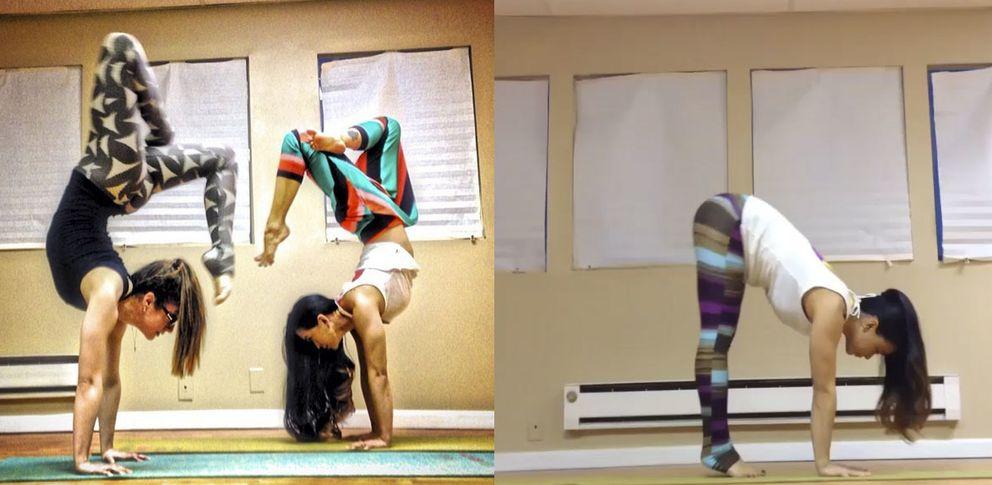 Laura Sykora lleva el yoga a nuestro hogar (Fotos: Instagram)