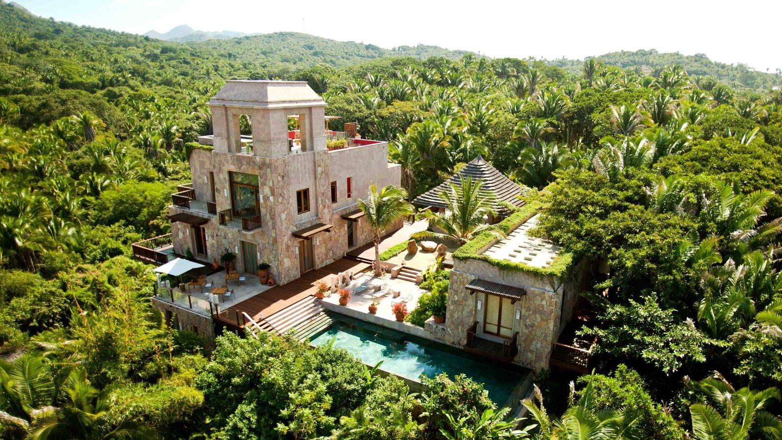 De madrid a riviera nayarit cinco hoteles maravillosos - Hotel de lujo en granada ...