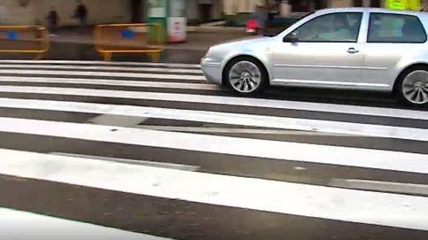 Un paso de peatones de 40 metros 'ocupa' Cangas del Morrazo