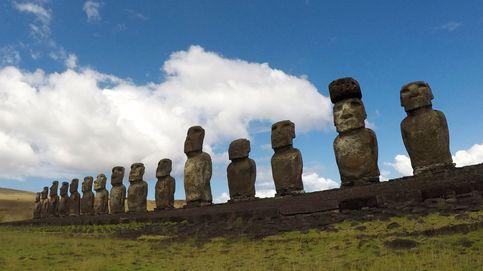 La misteriosa 'enfermedad' que mata a los moái de la Isla de Pascua