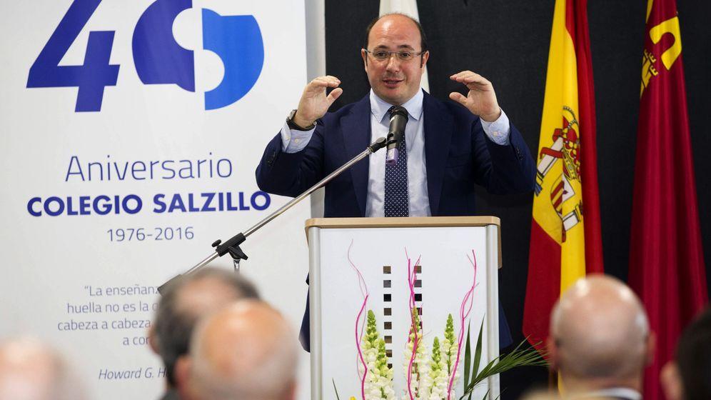 Foto: El presidente de la Región de Murcia, Pedro Antonio Sánchez. (EFE)