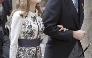 Un aniversario de boda de 'perfil bajo' para los príncipes de Asturias