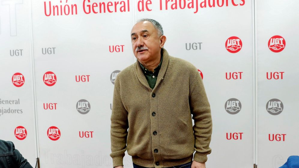 Foto: El secretario general de la UGT, Pepe Álvarez. (EFE)