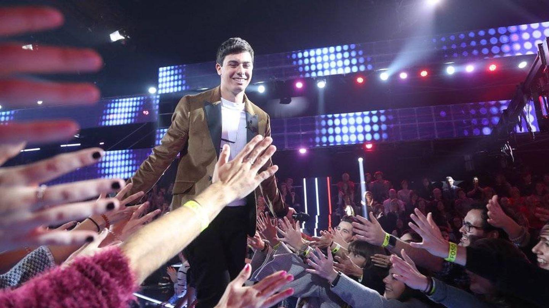 Alfred, favorito de la gala 4 de 'OT 2017'. (RTVE)