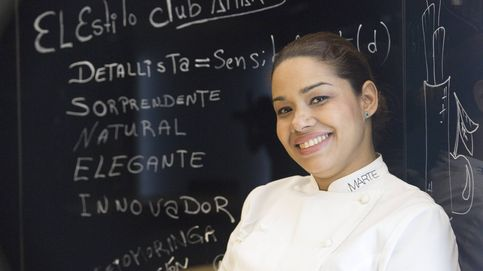 María Marte, de fregar platos a dos estrellas Michelin