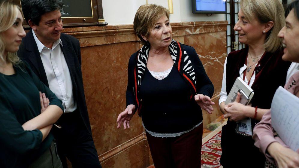 Foto: La presidenta de la comisión parlamentaria del Pacto de Toledo, la popular Celia Villalobos. (EFE)
