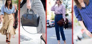 Post de Cómo llevar las rayas a la oficina, tres formas perfectas de conseguirlo