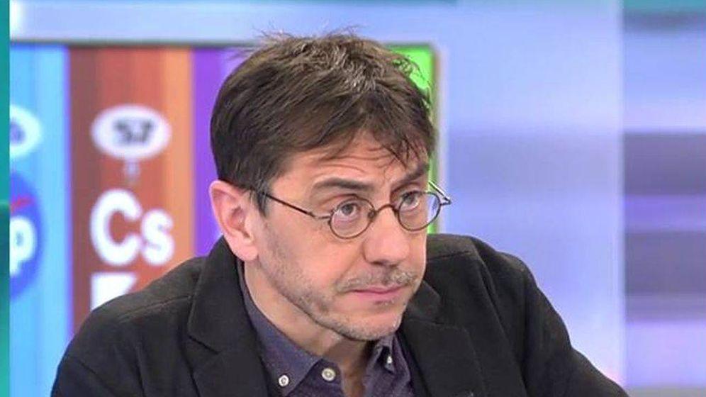 Foto: Juan Carlos Monedero, en las mañanas de Telecinco. (Mediaset)