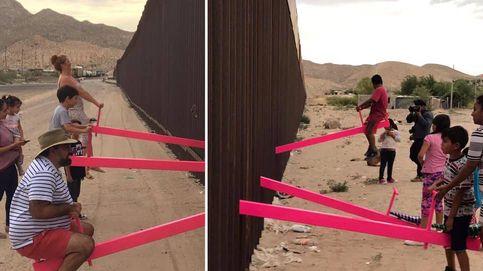 Un balancín para unir lo que una frontera separa: El muro, un punto de apoyo literal