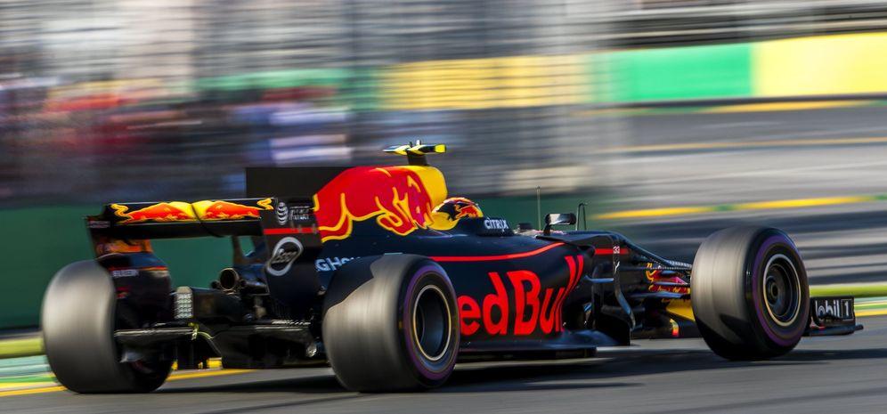 Foto: Imagen del Red Bull de Max Verstappen en el GP de Australia. (Reuters)