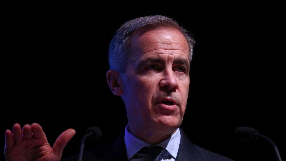 Foto: Mark Carney, gobernador del banco de Inglaterra (Reuters)