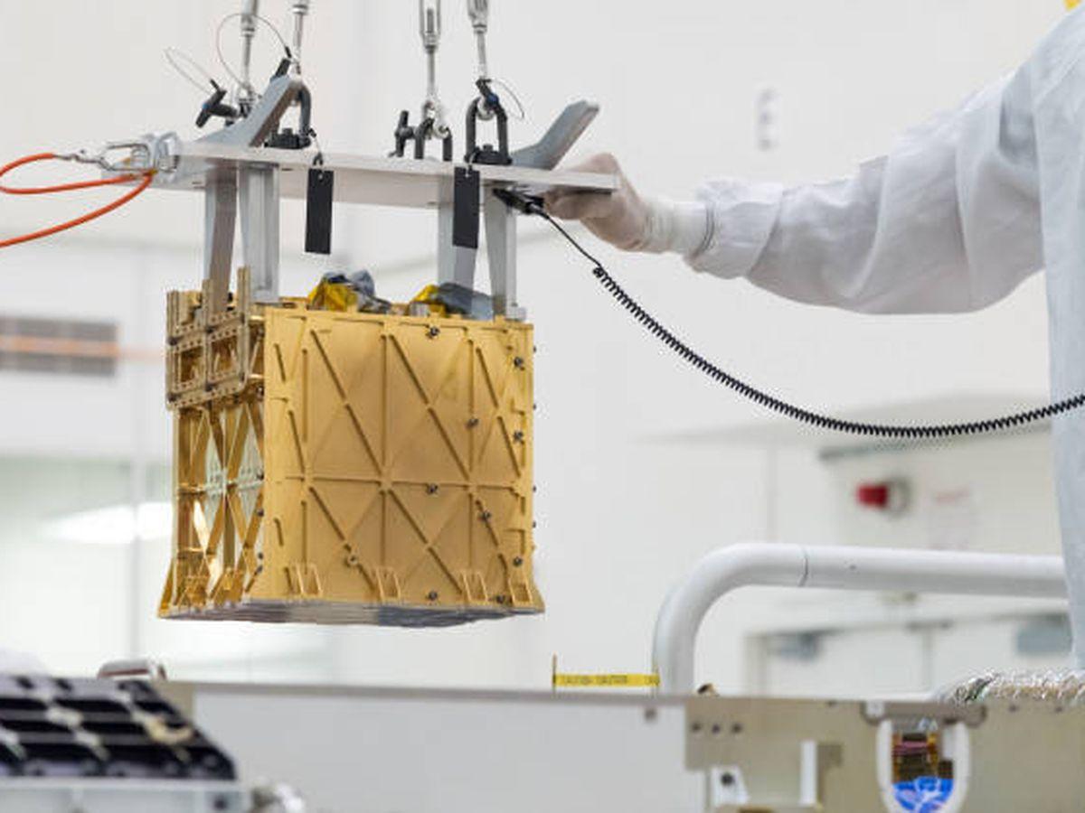 Foto: MOXIE la máquina que producirá oxígeno en Marte (NASA)