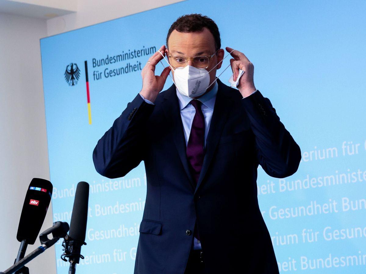 Foto: El ministro alemán de Sanidad, Jens Spahn. (Reuters)
