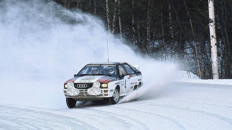 La primera victoria de un Audi Quattro en competición tuvo lugar en el Rally de Suecia de 1981, con Hannu Mikkola al volante.