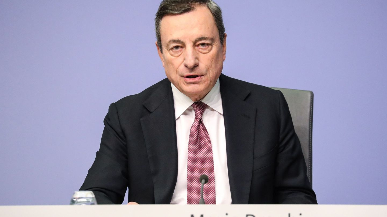 Mario Draghi, presidente del Banco Central Europeo. (EFE)
