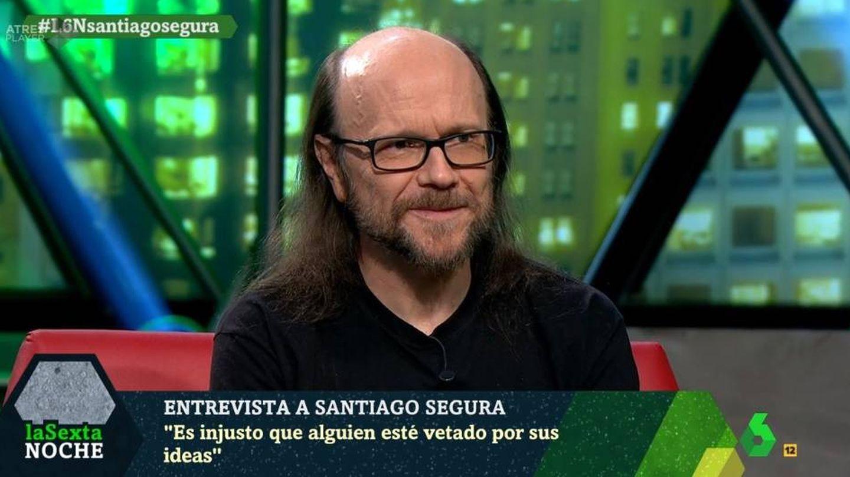 Santiago Segura en 'La Sexta noche'.