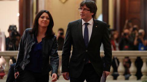 Marcela Topor, la desaparecida primera dama catalana, reaparece con Puigdemont