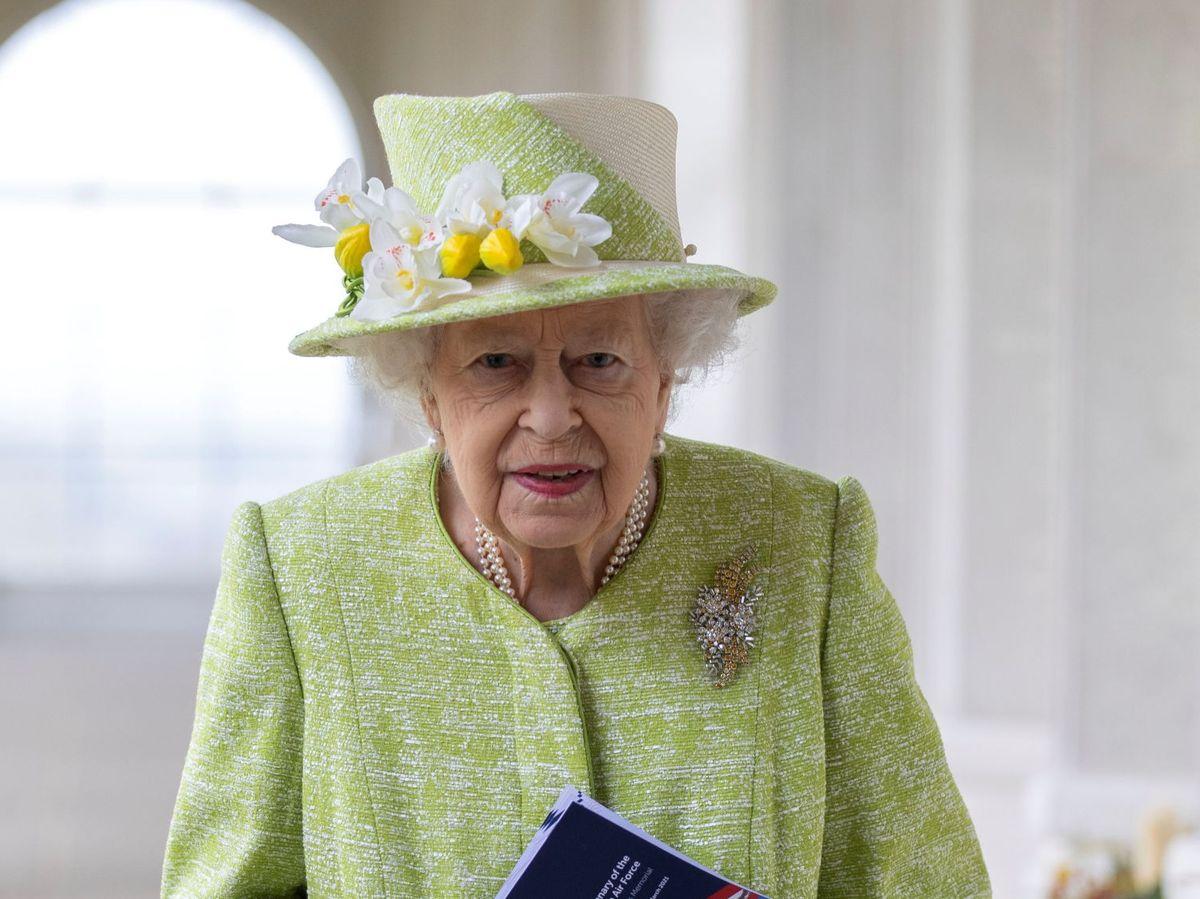 Foto: La reina Isabel, este miércoles. (Reuters)