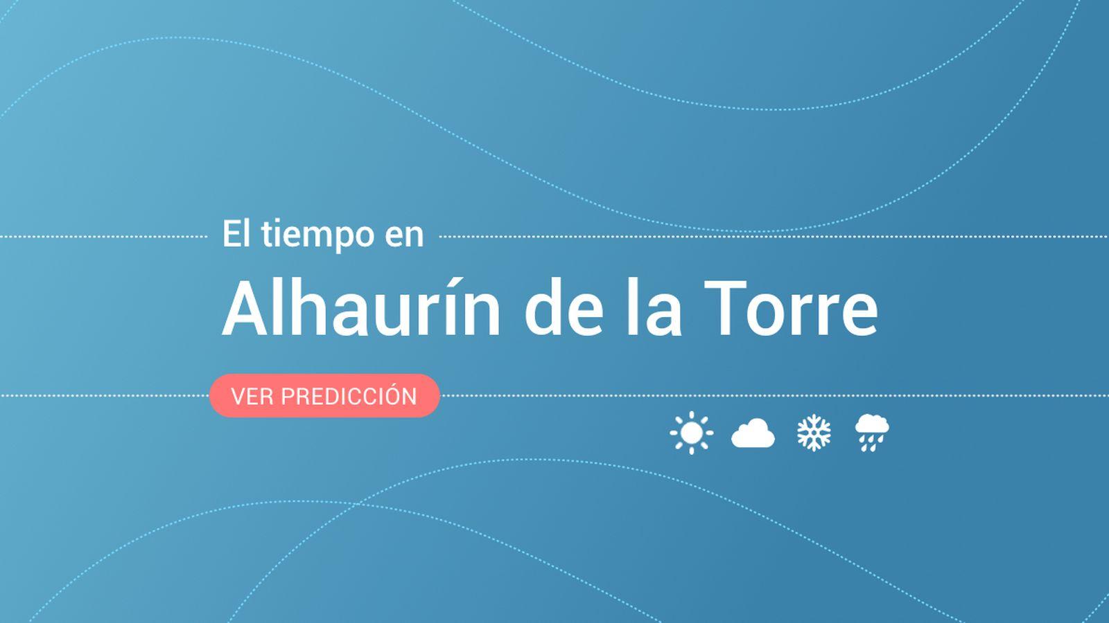 Foto: El tiempo en Alhaurín de la Torre. (EC)