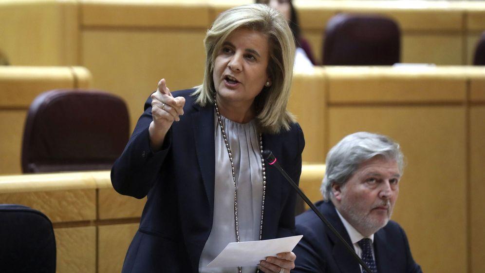 Foto: La ministra de Empleo, Fátima Báñez. (EFE)