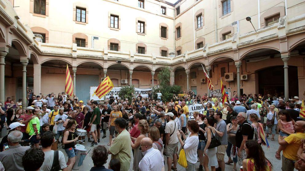 Los CDR siguen en la cárcel Modelo de Barcelona tras recibir la visita de Torra