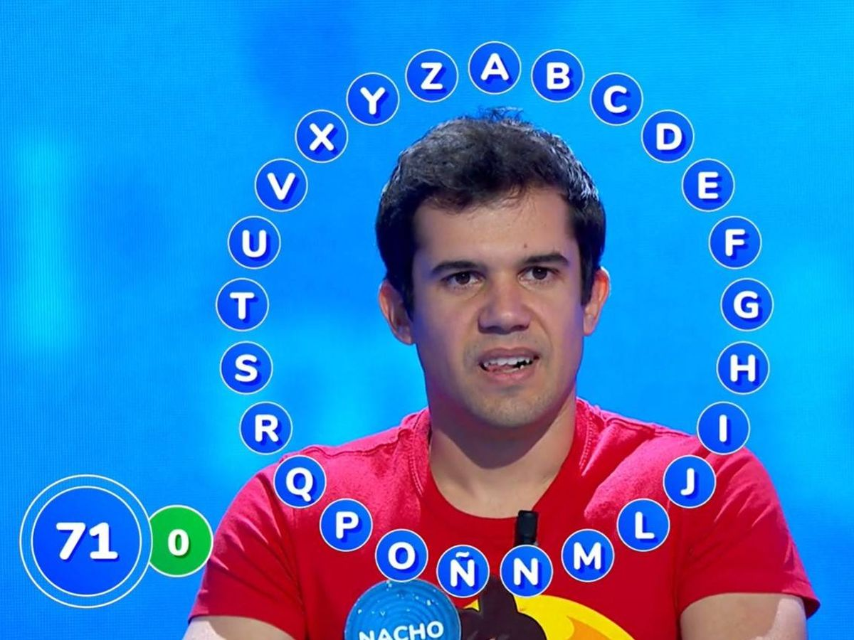 Foto: El concursante Nacho Mangut. (Atresmedia)