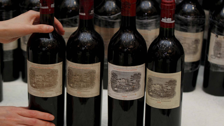 Subasta de vinos históricos Château Lafite-Rothschild en China. (EFE)