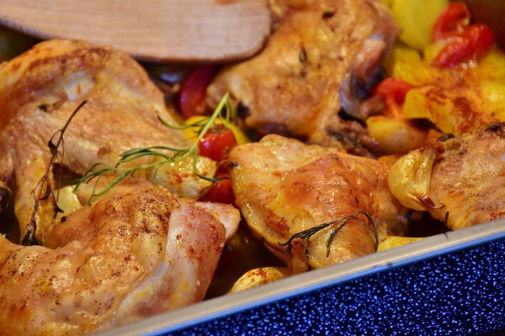 Recetas sobras de pollo