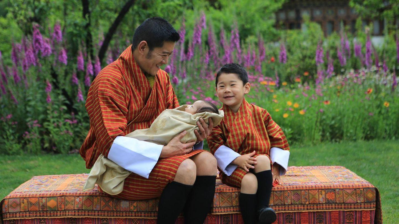 El príncipe heredero está encantado con su hermano. (Royal Office For Media).