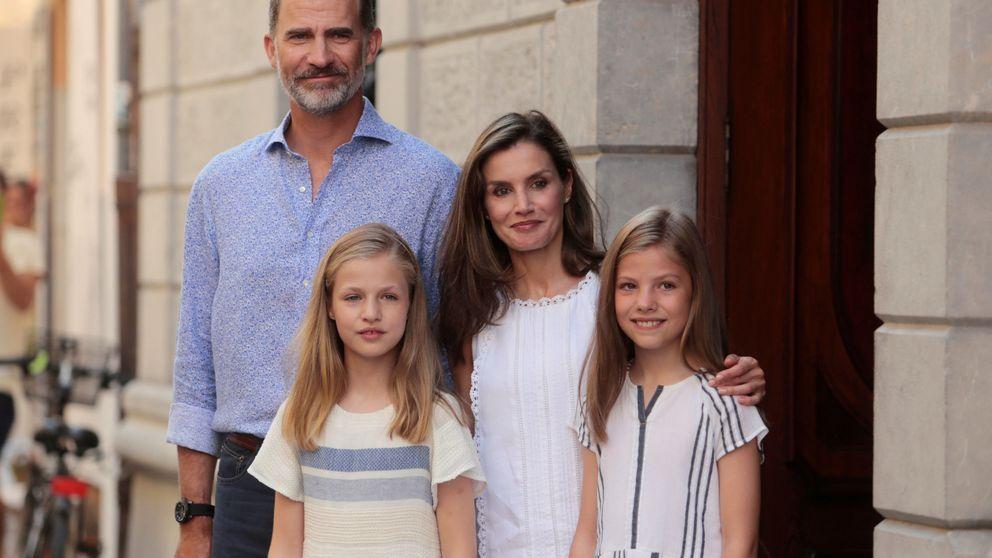 La última salida de los Reyes y sus hijas, al descubierto