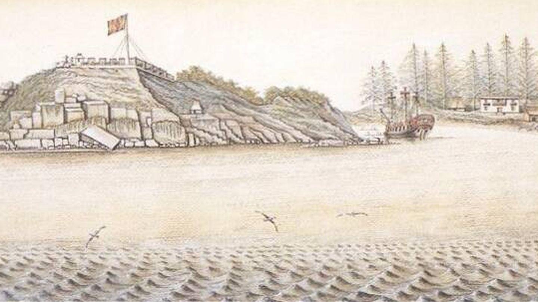 Fuerte español de San Miguel en Nootka.
