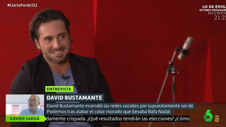 David Bustamante se mofa en La Sexta del lenguaje inclusivo de Irene Montero